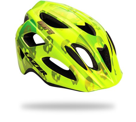 LAZER NUT'Z KIDS HELMET graphic